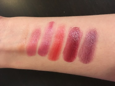 Runway Ready Swatches w/out primer