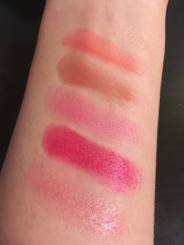 Runway Ready Lip Palette 2 Swatches w/out primer