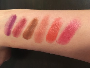 Iris Beilen Swatches w/out primer
